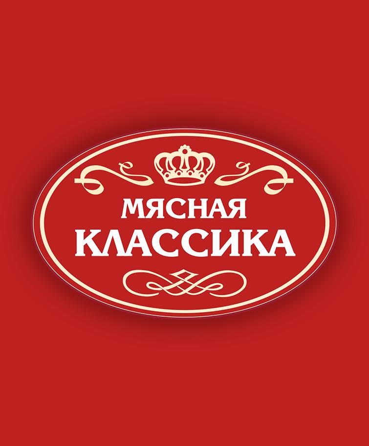 Логотип Мясная классика