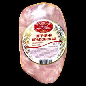 Вареные колбасы. Ветчина КРАКОВСКАЯ